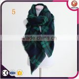 wholesale 19 colors winter tartan scarf women fashion blanket plaid scarf fashion order in small quantities