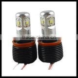 H8 20W led marker halo light bulbs led for BMW car accessories made in China 20w h8 led angel eyes