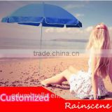 professional advertising promotional windproof custom outdoor beach umbrellas wholesale                                                                         Quality Choice