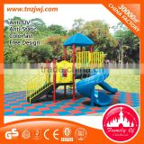 Outdoor play structure factory plastic outdoor playground slide homes for children cheap