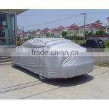 Full Car Cover Indoor Outdoor Sunscreen Heat Protection Dustproof Anti-UV Scratch-Resistant Sedan Universal Suit L