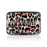 Metal business card case name card holder RFID credit card wallet