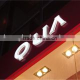 Berne led channel letters led facade letters custom logos led acrylic doors designs
