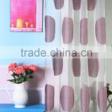 100% Polyester Material and Woven Technics fancy design lead weight for curtain
