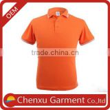 100% cotton pique polo 220g polo shirts made in china tee shirts unisex dri fit golf shirts wholesale orange polo tee shirts