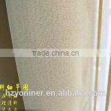 2015 hot sale 015 linen like curtain fabric ; made up curatin in hotel or home