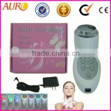Au-013 Hotsale photon health care led facial machine / ultrasonic photon facial massager