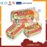 titus canned sardines fish