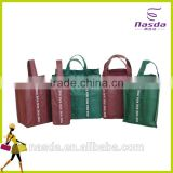 non-woven wine bag with spout,hot sale nonwoven wine bag in box holder,wine bag with spout tap with custom logo