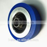 Good Bearing Pressure Capability PU escalator spare parts door roller