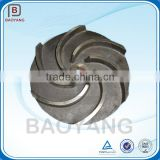 grey and ductile cast iron turbo impeller,pump impeller