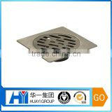customized stainless steel 4 inches ground leakage floor drain cover for bathroom / shower
