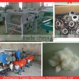 Multi-rollers Cotton waste yarn opening machine/chemical fiber tearing machine/Textile wastes tearing machine