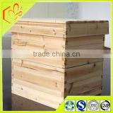 beekeeping equipment China fir wood two layers bee hive for sale