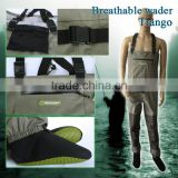 High-density neoprene fly fishing breathable fishing wader