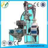 Complete processing line flour mill 20TPD wheat flour milling machine
