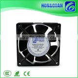 ISO9001 SAA CCC CE approved 120x120x38mm 12038 1238 7 impeller axial ac mini cooling fan factory