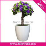 Artificial Potted Plant Plastic Table Small Plant Pots Artificial Grass Ball Tree / Bonsai Tree