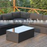 Hot Sale Outdoor Garden 3pcs king Rattan sofa sets