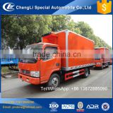 Dongfeng 6 wheeler 4 ton 5 ton 6 ton small 4x2 cold insulated truck body for sale