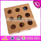 Unique design toy puzzle box wooden cat toys best sale wooden interactive cat toys for sale W06F032