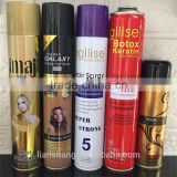 hot sales alcohol free hair spray long lasting strong hold hair spray 420ml