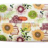 Sunflower Placemat Garden Style EVA And Non-woven Table Mat