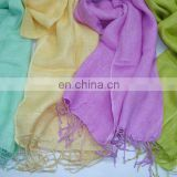 Linen scarfs for summers in solid colors