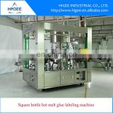 Hot Melt Glue Labeling Machine for Square Bottle, OPP labeling machine, High speed rotary labeling
