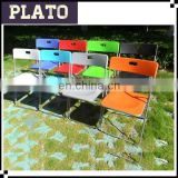 Easy working plastic folding chair