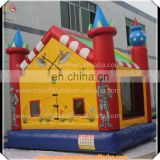 Promotion inflatable castle, inflatable skeleton soldier jumper house, bouncy castle