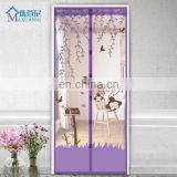 2017 Jili Romantic Painted Avoiding Screen Door Mosquito Curtains Gauze Curtains for home Decoration