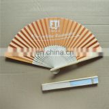 Personalized chinese custom hand held bamboo fans