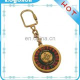 2018 compass LAS VEGAS Souvenir Spinning Gold Plating Keychain