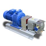 Johames LQ3A-6 0.75kw Stainless Steel Lobe Rotor High Viscosity Food Milk Juice Transfer Pumps
