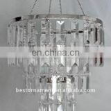 3 Tiered Rectangular Beads CHANDELIER