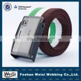 factory wholesale customized men cheap fabric belts