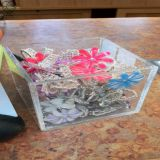 To Win-clear acrylic storage box with modern style