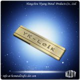 Custom Brushed Metal Logo Name Plates Online