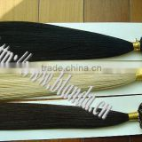 Super quality remy Mongolian human hair extension PU tape