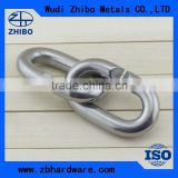 Metal material Rigging Hardware C shaped connecting ring for anchor chain