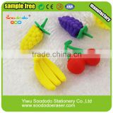 Funny Promotional Red Tomato Shaped Eraser