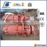 High flow Submersible sewage slurry pump with agitator
