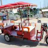 2015 best selling battery passenger tricycle electric rickshaw