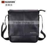 high quality classic fashion style waterproof durable mens genuine leather messenger bags