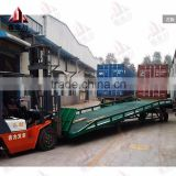Hydraulic pumps yard ramps/Mobile container loading ramps