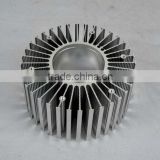 High quality round shape extruded 6000 series aluminum cooling fin (aluminium cooling fin, heat sink aluminium)