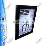 aluminum snap rail poster snap frame light tubes box