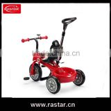RASTAR adjustable MINI cooper kids tricycle with parents pushing hand and bell