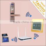ZigBee Wireless Home Automation Products fingerprint lock switch smart system lock for house